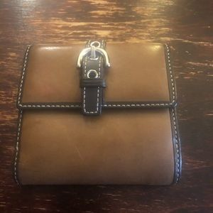 Leather Coach small wallet